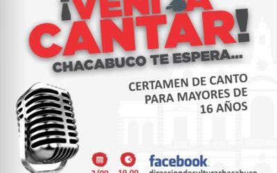 Cultura: abre convocatorias Vení a Cantar y Catálogo TyC