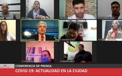 Covid: autoridades municipales brindaron detalles de la situación actual