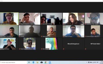 Directores de Juventud en una reunión con Provincia
