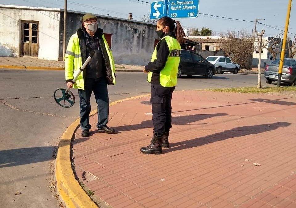 Tránsito: instalación de un semáforo