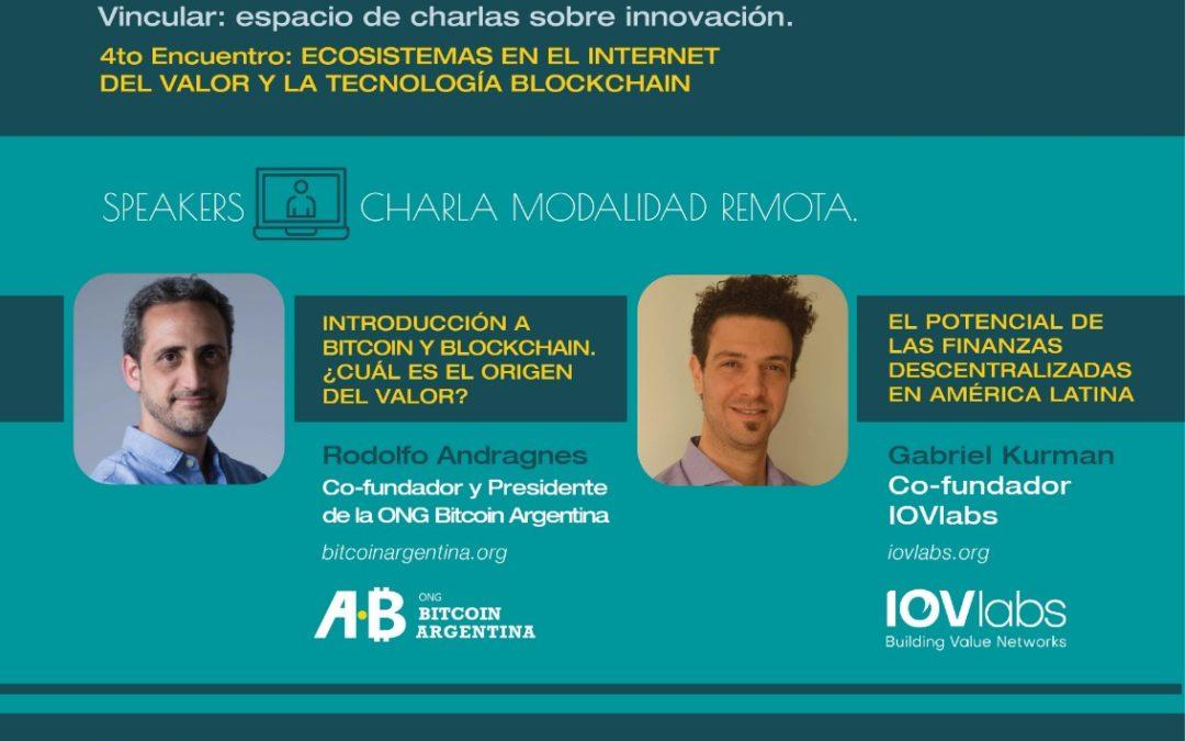 Vincular: Espacio de charlas sobre innovación