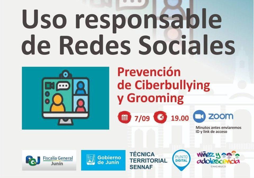 Prevención de Ciberbullying y Grooming