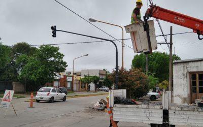 Nuevo semáforo en la ciudad