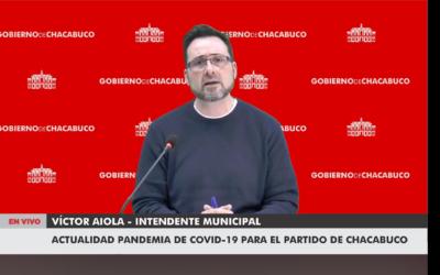 La palabra del intendente municipal Dr. Víctor Aiola