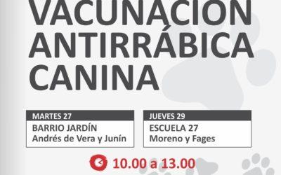 Calendario de vacunación antirrábica