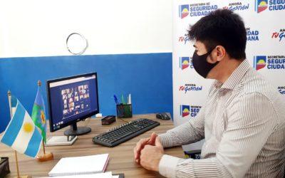 Loyola mantuvo una reunión virtual con el Ministerio de Seguridad
