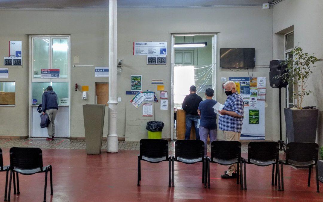 Comenzaron a funcionar las oficinas del Palacio Municipal