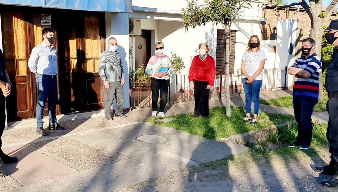 Seguridad recorrió el barrio Las Palmeras