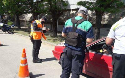 Tránsito y Policía Comunal: controles del fin de semana