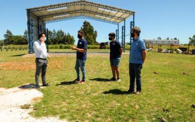 El Intendente de visitó distintos sectores del Parque Industrial