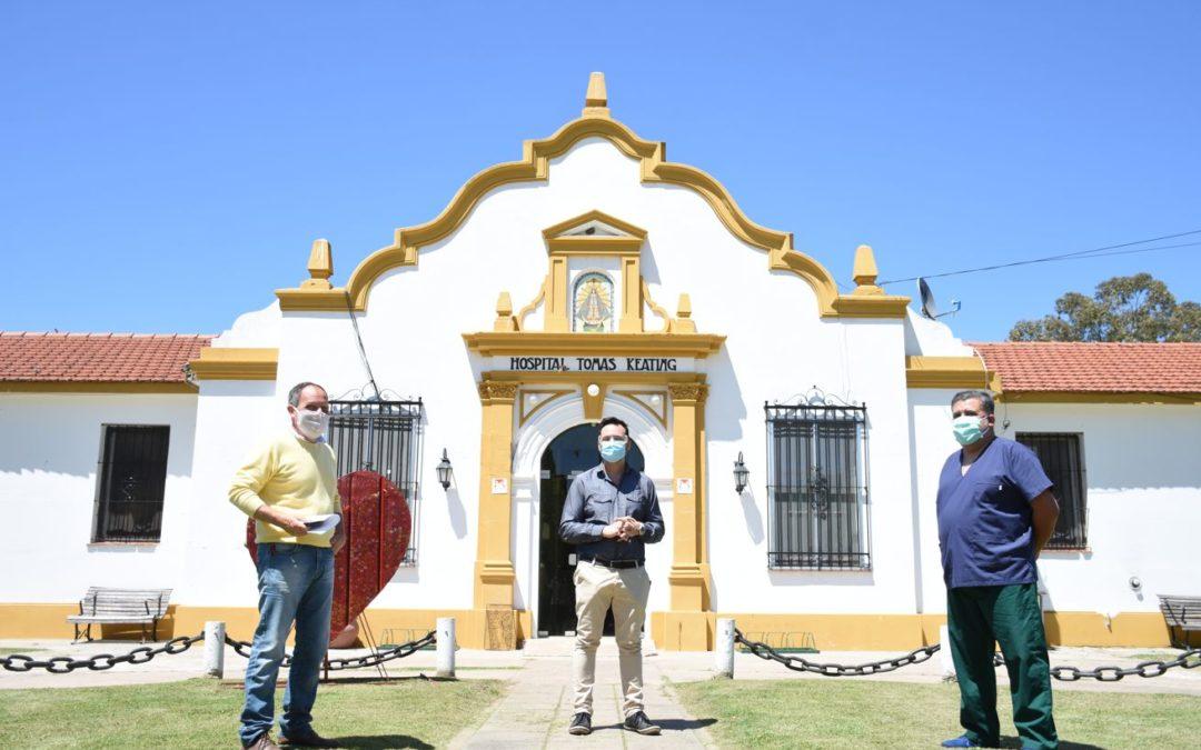Cerca de las localidades: el Intendente de visita en Rawson y Castilla