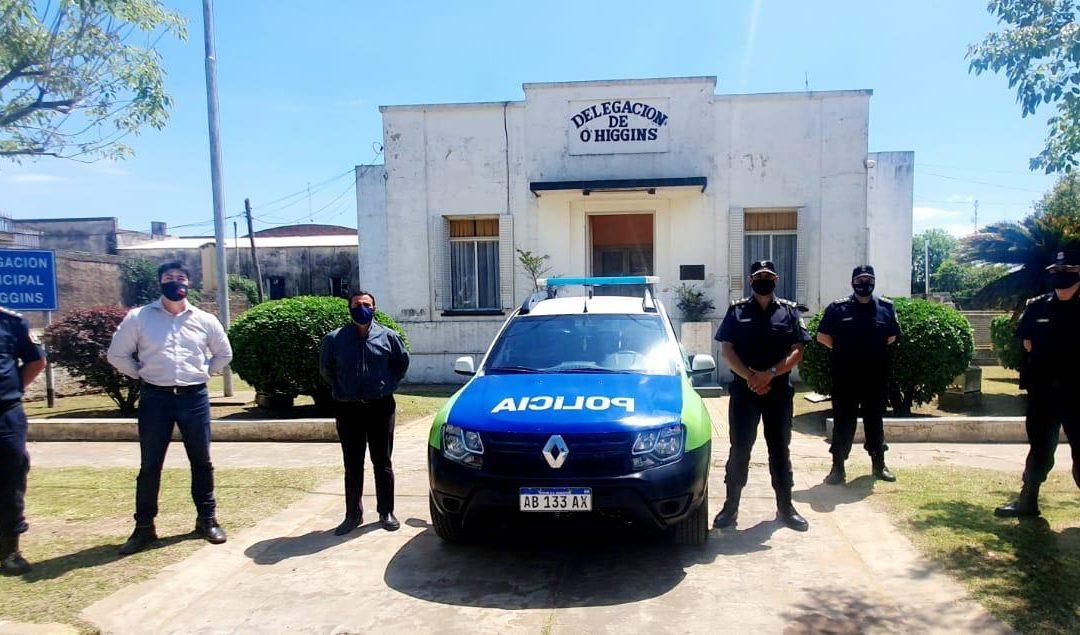 O´Higgins: entregaron un móvil policial para la Subcomisaría
