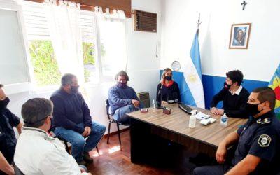Seguridad: reunión con Sociedad Rural