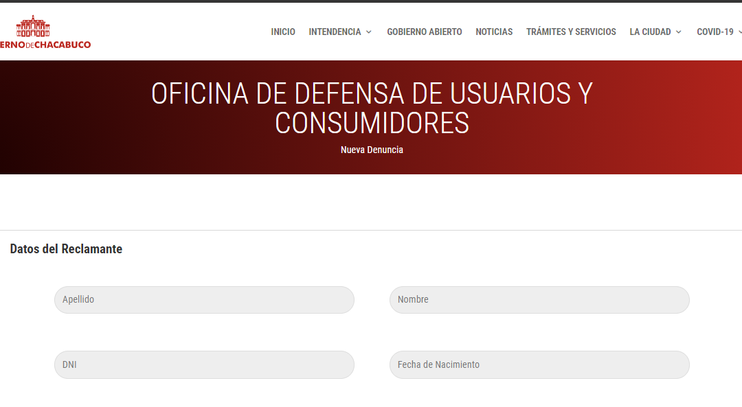 Nuevo canal de reclamo virtual ante la OMIC