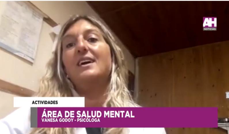Campaña de Salud Mental: refuerzan espacios de atención