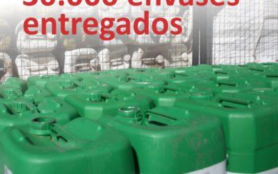 CAT: se superaron los 30.000 envases de fitosanitarios retirados