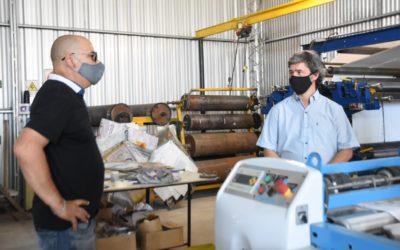 Lloret y Cía avanza en su inversión en el Parque Industrial