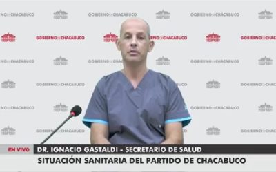 Panorama de la situación epidemiológica en Chacabuco