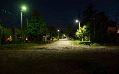 Esfuerzos Compartidos: iluminación en calle Tonelli