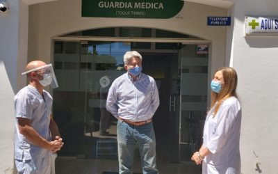 La Directora de Salud visitó Rawson