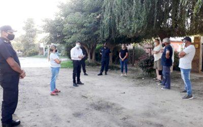 Seguridad y Relaciones Institucionales: reunión con vecinos