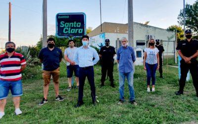 Seguridad: mesa barrial en Santa Clara