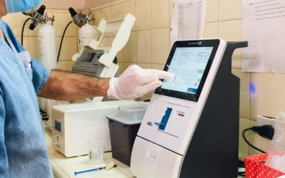 Laboratorio Hospital: instalaron un nuevo analizador de gases en sangre