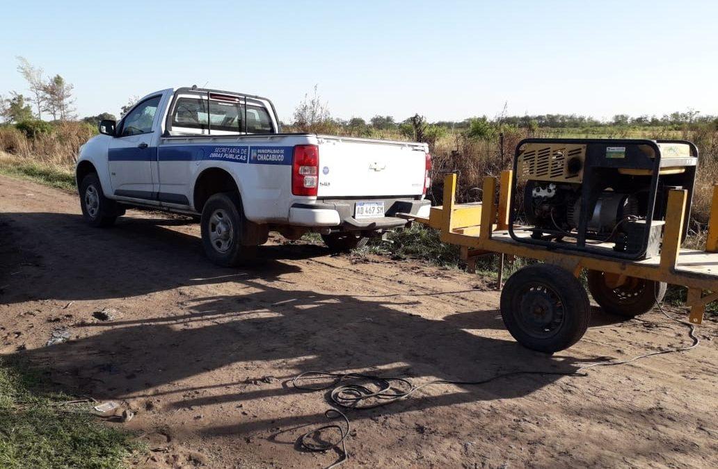 Obras Sanitarias: Trabajos en pozos de agua