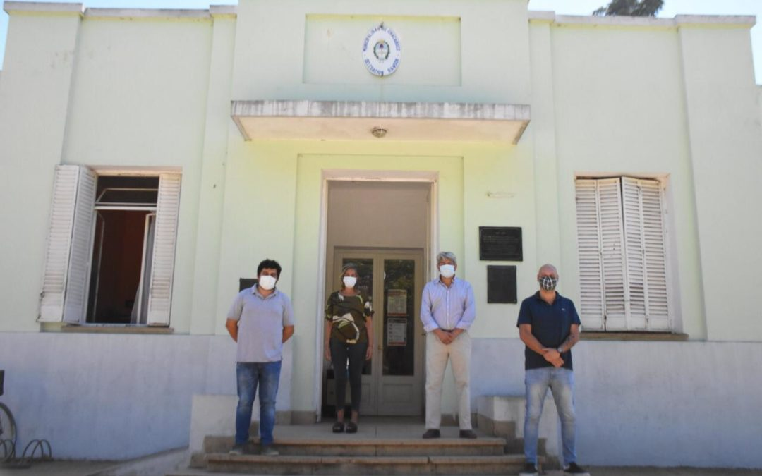 Autoridades municipales recorrieron Rawson