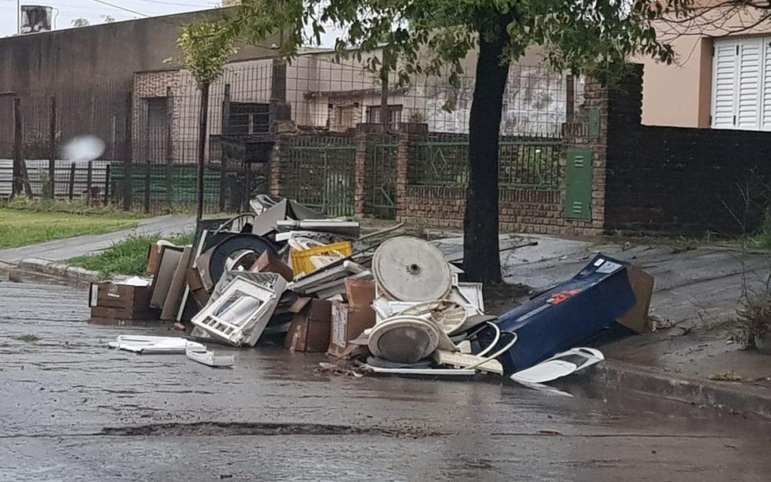 Defensa Civil: registro de precipitaciones