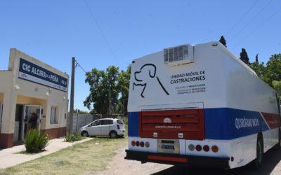 Los Nogales: próxima parada de la unidad móvil de castraciones