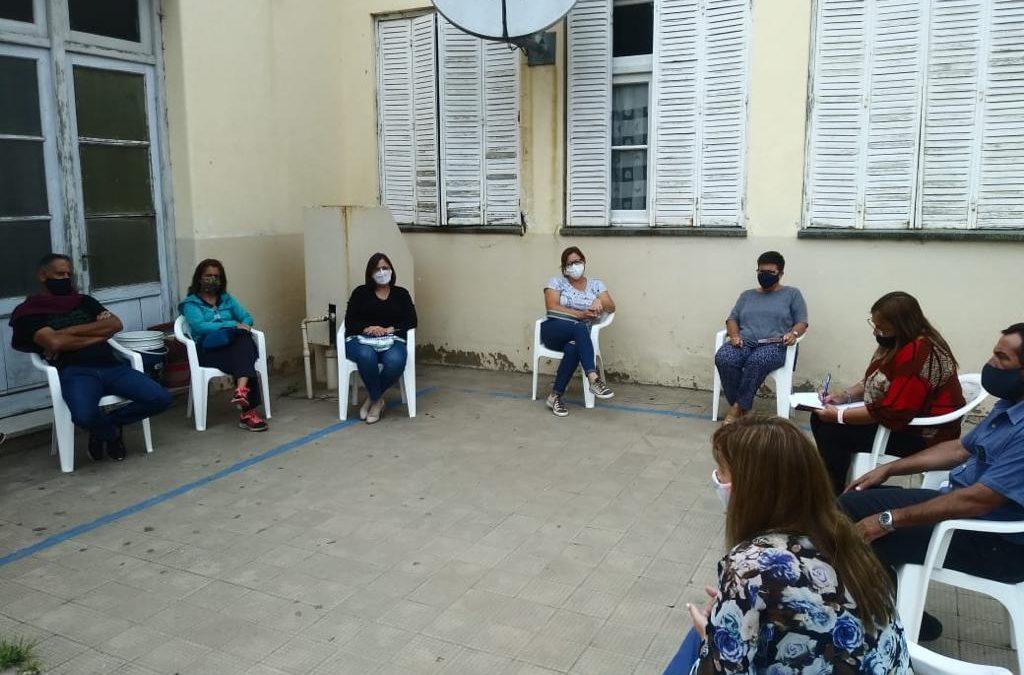 Consejeros Escolares se reunieron con la comunidad educativa de O'Higgins