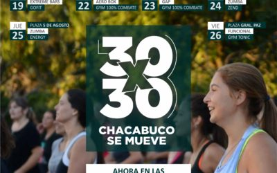 Deportes: en febrero Chacabuco se sigue moviendo
