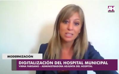 Modernización del Hospital Municipal: implementan sistema de software