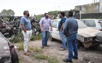 Nación y Municipio: se compactarán 350 motocicletas y 25 automóviles