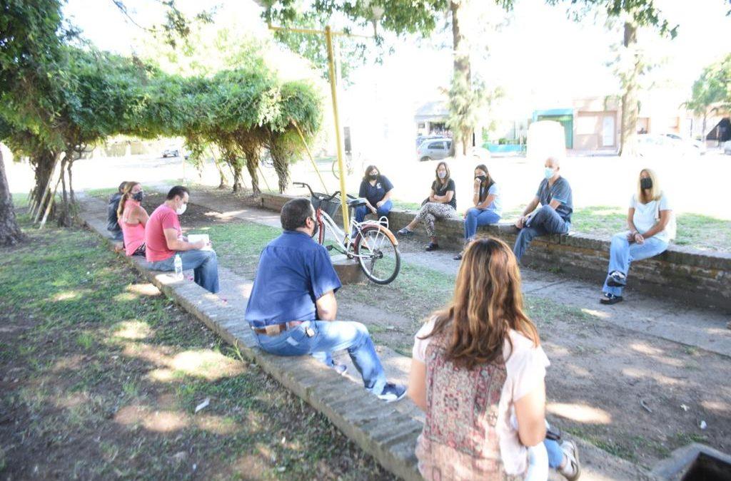 La Provincia determinó el regreso de la presencialidad y docentes locales se reunieron con Educación y Salud