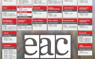 Comenzaron las inscripciones para los talleres de la EAC