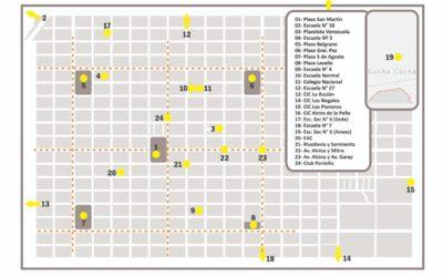 Mapa puntos verdes en nuestra comunidad