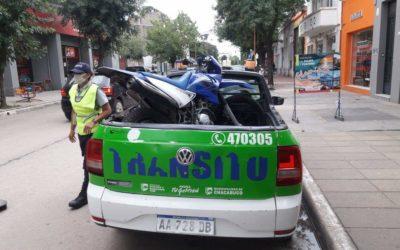 Controles de tránsito en la ciudad