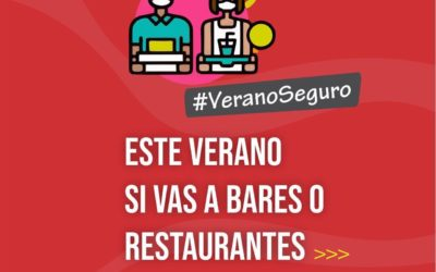Verano Seguro: lo que hay que saber si vas a bares o restaurantes
