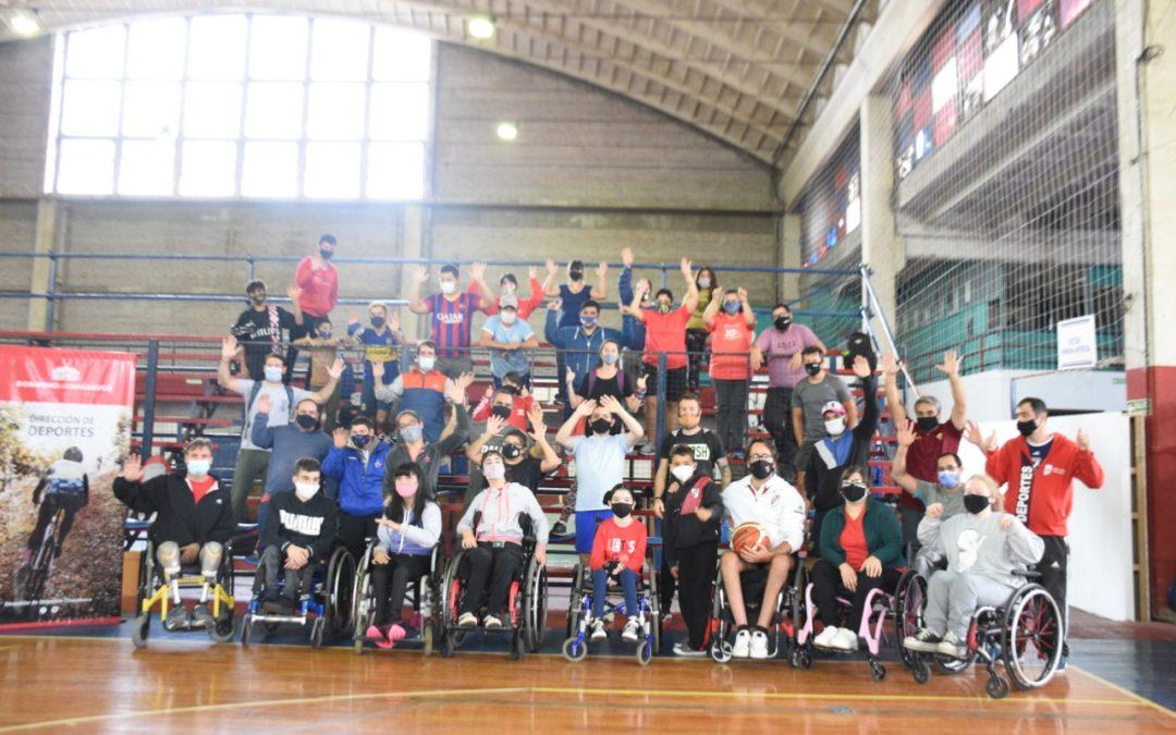 Igualar oportunidades es generar inclusión: Primera jornada de deporte adaptado en Chacabuco