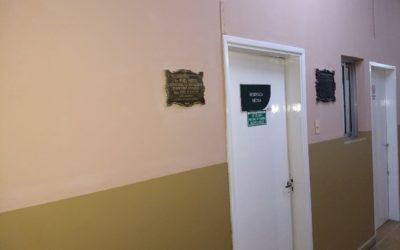 La Cooperativa de Pintura realiza mantenimiento y reparaciones en el hospital
