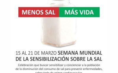 Semana Mundial de la Sensibilización sobre la Sal