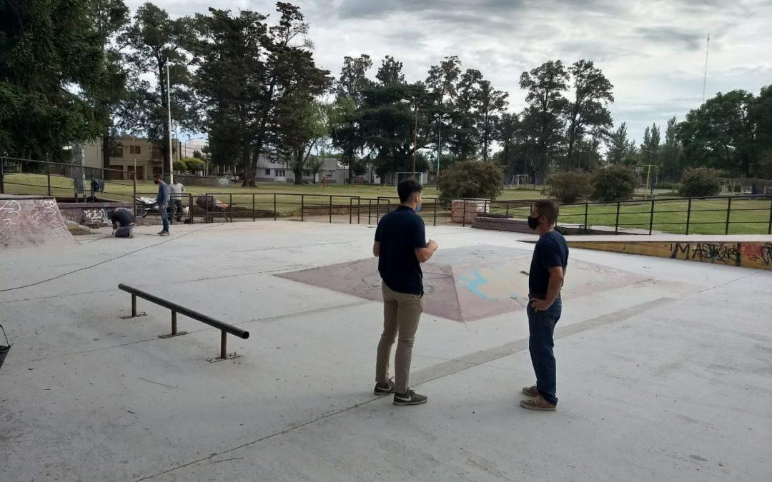 Continúa la puesta en valor de la pista de Skate