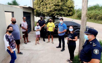 Seguridad: Recorridas barriales en zona de Miguel Gil y Ullua