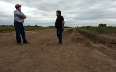 Servicios Públicos: mantenimiento de caminos rurales