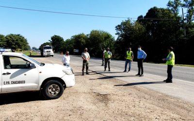 Seguridad: operativos policiales en Ruta 7 junto a personal de ARBA