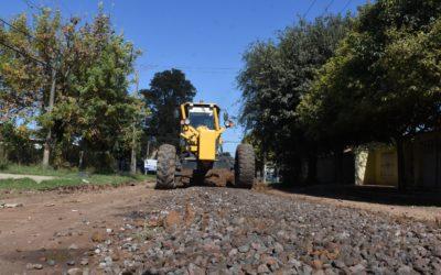Accesibilidad: continúa el plan de mejorado y empedrado de las calles de nuestra comunidad