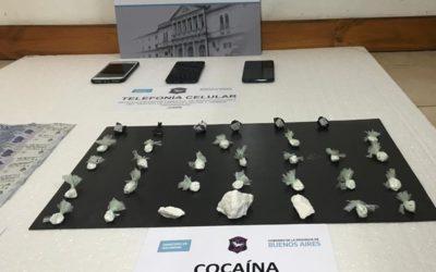 Detenidos por venta de estupefacientes en Chacabuco