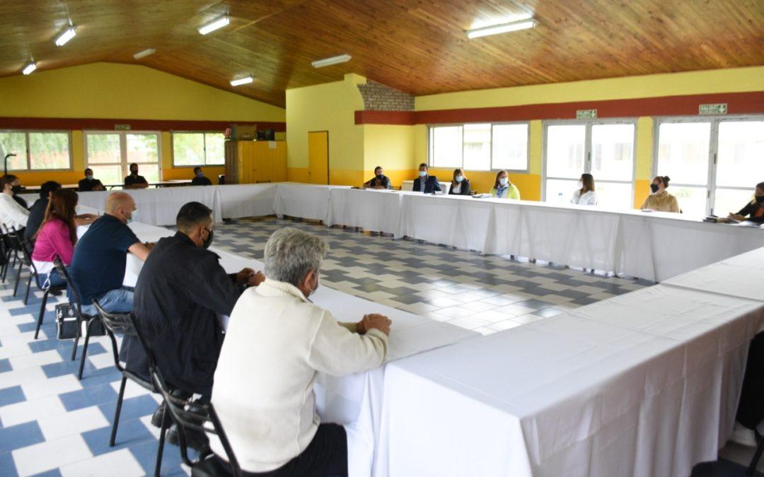 Violencia de género: nueva mesa local junto a las Delegaciones